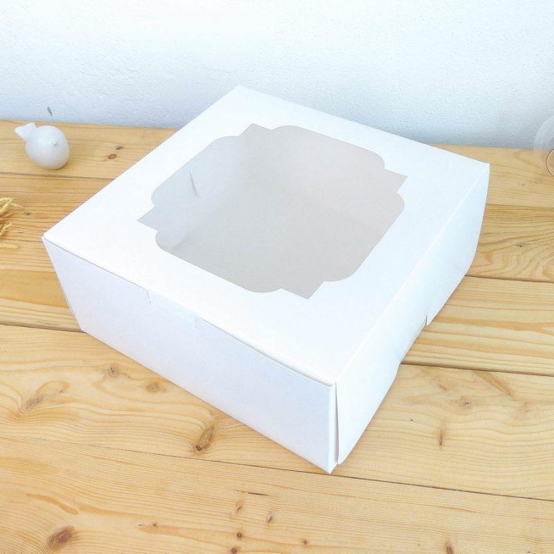 กล่องเค้กขาว 1 ปอนด์